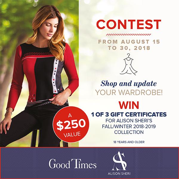 contest alison sheri