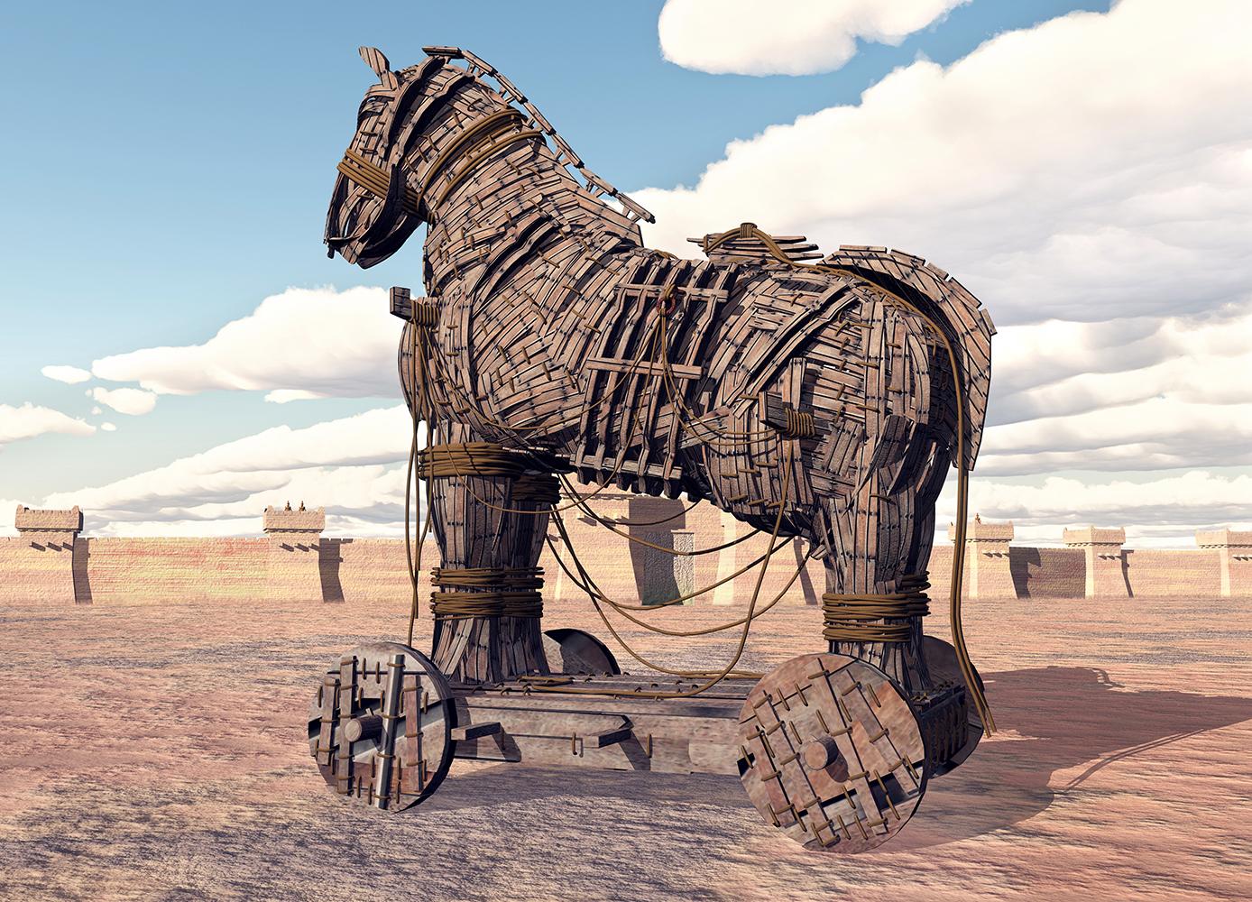 Il cavallo di troy